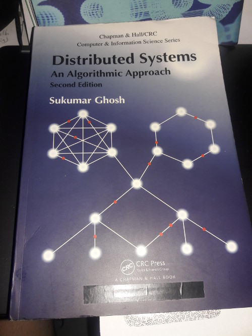 The Distributed Algorithm by Sukumar Ghosh --- this is a must have book if you are developing on a distributed platform.